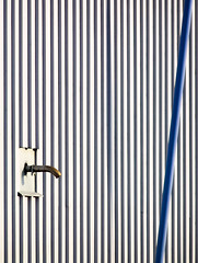 ♫ 'An illusion to me now ... ' ♪ (Canadapt) Tags: wall spigot wire siding abstract allegory metaphor tromsø norway canadapt