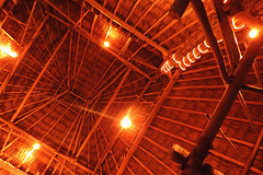 San Pedro - Ceiling Construction (Drriss & Marrionn) Tags: travel centralamerica belize sanpedro cayes ambergriscaye island tropicalisland street streetviews nightshots evening streetlife streetscene ceiling tropics dnysmphotography dnysmsmugmugcom