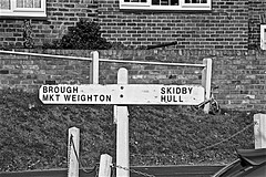 Sign Posts Monochrome (brianarchie65) Tags: littleweighton eastyorkshire eastridingofyorkshire yorkshirecameraramblers yorkshireblackandwhite pond ducks water reflections reflectiononwater monochrome blackandwhite blackandwhitephotos blackandwhitephoto blackandwhitephotography blackwhite123 blackwhiterealms flickrunofficial flickr flickruk flickrcentral flickrinternational ukflickr canoneos600d geotagged brianarchie65 sign signs posts signposts