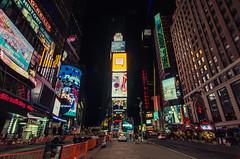 NYC After Midnight (benchorizo) Tags: nyc newyork manhatan banias timessquare benchorizo romeobanias
