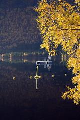 Hausttre -|- Autumn impressionistic (erlingsi) Tags: autumn høst reflection rotevatn tree tre leaf løv