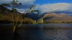 Kilchurn in October (johnny_9956) Tags: loch water lake castle kilchrun argyle scotland historic hills tree mountain landscape highlands