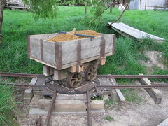 Going For A Spin. (Tramway Goats) Tags: highsider loaded turntable creeksidebranch track tramway goatbridge