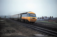 Grantham 254032 Edinburgh to Kinghs X June 80 J6970 (DavidWF2009) Tags: grantham ecml class254 class43 hst