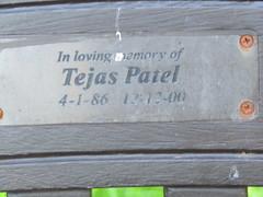 IMG_0903 (belight7) Tags: bench park memorial tejas patel