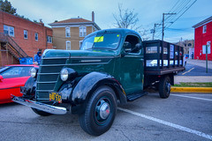 Old-Time International (kendoman26) Tags: hdr aurorahdr2019 happytruckthursday truck 1939internationaltruck nikon nikond7100 tokinaatx1228prodx tokina tokina1228 october2018morrisillinoiscruisenight morriscruisenight morrisillinois