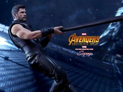 A3Thor_002 (siuping1018) Tags: hottoys marvel disney avengers actionfigures photography onesixthscale siuping infinitywar thor canon 5dmarkii 50mm
