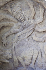 834-2015 (bsthenguyen) Tags: traveldestination photography colorimage day indoors art archaeology sculpture statue statues closeup closeups singleobject carved carvings cham museum museums exhibits museumofchamsculpture danang vietnam indochina southeastasia asia vertical god gods hindu hinduism siva