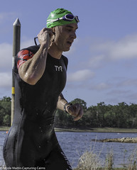 "Cairns Crocs Lake Tinaroo Triathlon-Swim Leg • <a style=""font-size:0.8em;"" href=""http://www.flickr.com/photos/146187037@N03/44678610945/"" target=""_blank"">View on Flickr</a>"