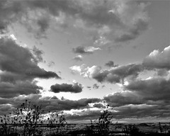 IMG_6594 (2) (rudyschnick) Tags: monochrome bnw wave clouds water sky