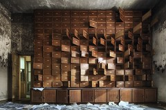 Where the f*** did I put it (christian schmoeger) Tags: frozen urbex absence lostplace italy manicomio abandoned lost urbanexploration