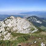 Panoramic view from Vf. Ascuţit, Piatra Craiului Mountains thumbnail
