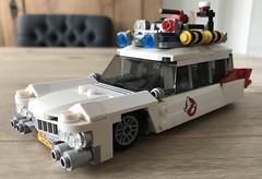 lego Ecto-1 moc (KaijuWorld) Tags: lego moc custom ghostbusters set mod ecto1 80s cadillac ambulance