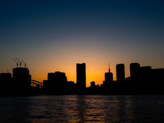 PA210120 (ishizima) Tags: 東京都 日本 jp tokyo japan river buildings buildingcomplex olympus omd sunset dusk sky em10 omdem10 omdem10markii em10markii