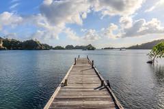 Muelle (Andrés Guerrero) Tags: 2018 indonesia papua papuabarat papuaoccidental rajaampat travel viaje westpapua piaynemo island piaynemoisland pulaupiaynemo pianemo muelle mar sea perspectiva