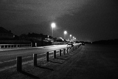 IMG_7173 (Scarlett J) Tags: black white bw 35mm filn film dark landscaoe landscape portrait beach clouds grain vintage old photography