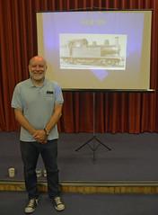 DJ Bob Sep24th 365/268 (Aidan B Kelly) Tags: holdenf5 steamtrain locomotive talk presentation 365challenge