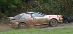 Audi Quattro (rallysprott) Tags: sprott wdcc rallysprott rallyday 2018 castle combe motor sport rally rallying rain wet nikon d7100 audi quattro