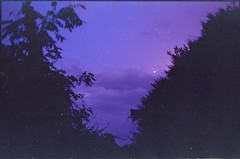 (✞bens▲n) Tags: contax g2 kodak ektapress 100 carl zeiss 45mm f2 film analogue japan sky mountains