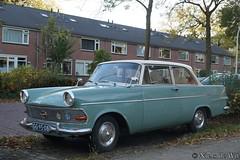 1962 Opel Rekord 1700 (NielsdeWit) Tags: nielsdewit car oldtimer vehicle classic gg9508 opel rekord 17r2 1962 wageningen p2 favourite