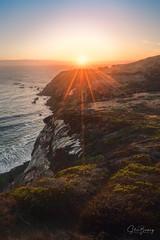 Marin Headlands XV (sberkley123) Tags: california d850 nikon marin usa sunset ocean colors marinheadlands sanfrancisco coast pacific 1424mm