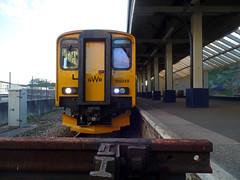 150249 Falmouth Docks (3) (Marky7890) Tags: gwr 150249 class150 sprinter 2f88 falmouthdocks railway cornwall maritimeline train