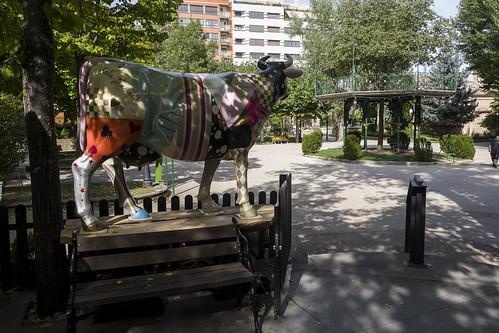 Alameda de Cervantes, Soria.
