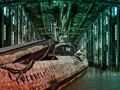 U-461  ... Mahnmal in Schrott ... Memorial in scrap (smithjuha440) Tags: uboot lumix pennemünde composing licht war wasser photoshoplightroom