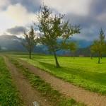 Landscape panorama near lake Hechtsee in Tyrol, Austria thumbnail