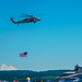 AMERICA'S @NASWISAR FLYING OLD GLORY IN FRONT OF MT. BAKER & HIS