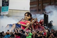 Giant Spectacular 2018 (teltone) Tags: royaldeluxe giants liverpool thedream artists spectacular waterfront stgeorgeshall merseyside quality raw canon aperture finale