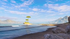Beach View (nicksoptima) Tags: ps4 ubisoft screenshot assassins creed odyssey beach landscape