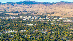 Boise and Vicinity in Widescreen From the Air (AvgeekJoe) Tags: aerialphotograph boise d5300 dslr idaho nikon nikond5300 tamron18400mm tamron18400mmf3563diiivchld aerial aerialphoto aerialphotography