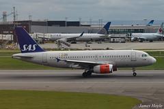 SAS OY-KBP A319 at London Heathrow Airport 16-04-16 (JH Aviation Photography@EGCC) Tags: sas lhr london londonheathrow renaissance renaissancehotel airliner airport aircraft aviation airways airlines jetliner jet