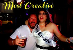 Most Creative? ok (MaryAnn Ginger) Tags: cd crossdress trans bridal sissy gown wedding bar crawl tgirl