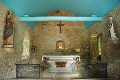 Chapelle en Bretagne (Fanny Prott) Tags: chapelle chapel art architecture old stones bretagne locmariaquer france église church blue bleu bois sanctuaire