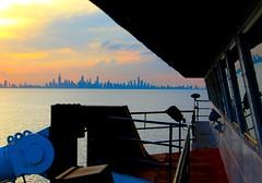 Chicago Skyline, from Lake Michigan (knutsonrick) Tags: