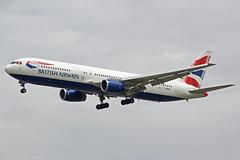 British Airways Boeing 767-336 G-BNWA (Paul's Aircraft and Transport Images) Tags: british airways airport avenue airlines airbus boeing britain ba cockpit england 336 767 myrtle aviation london heathrow lhr