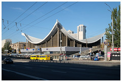 Central House of Furniture (awbaganz) Tags: architecture building kyiv europe easteurope fujifilm xf1024 autumn socheritage landmark arch ukraine будинок київ україна