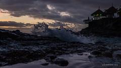 Costa Adeje, end of day (Canarias Islands) (christian.rey) Tags: adeje îlescanaries espagne es costa canarias spain vague bluehour heurebleue côte paysage landscape seascape shoreline sony alpha a7r2 a7rii 24105 wave splendidpictures imagesforthelittleprince