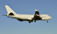 CAL 4X-ICA, OSL ENGM Gardrmoen (Inger Bjørndal Foss) Tags: 4xica cal boeing 747 cargo osl engm gardermoen