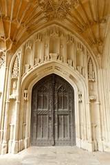 Tewkesbury Abbey (carolyngifford) Tags: tewkesburyabbey tewkesbury doorway vaulting stone
