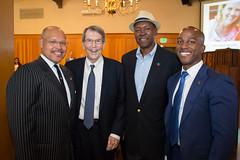 John Kennedy, Bill Bogaard, Raymond Ealy & Tyron Hampton