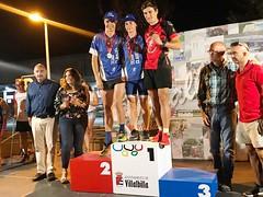 Campeonato de Madrid Triatlon Supersprint Villabilla Team Clavería podio 7