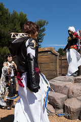 The Confrontation Before The Ride (asiantango) Tags: california cosplayseries coyotepointrecreationarea granbluefantasy out outdoor outdoors outside outsides sanmateo sunny weather