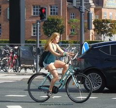 Copenhagen summer girl on a bike (sms88aec) Tags: copenhagen summer girl bike