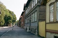 Tallinn, Estonia (etoms) Tags: 35mm etabroad europe travel portra400 om1 olympus tallinn estonia eesti baltics oldtown kalamaja woodenhouse olympusom1 film 35 mm
