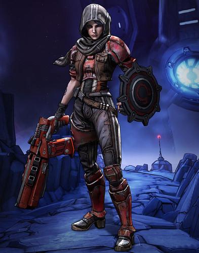 Borderlands: The Pre-Sequel Athena Gladiator