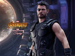 A3Thor_002a (siuping1018) Tags: hottoys marvel disney avengers actionfigures photography onesixthscale siuping infinitywar thor canon 5dmarkii 50mm