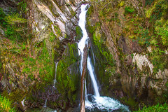 Devils Bridge Falls (Peter.Stokes) Tags: beach colour countryside england europe landscape landscapes nature outdoors panorama photo photography spring waves waterfall waterfalls country trees river mountains